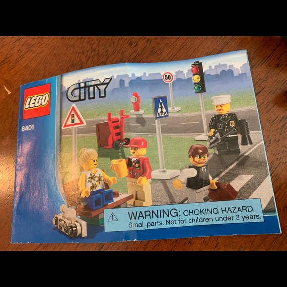 Lego Other - LEGO 8401 City People Accessories
